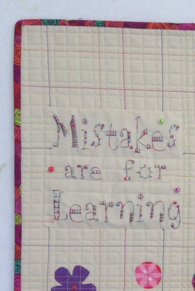 Mistakes are for Learning